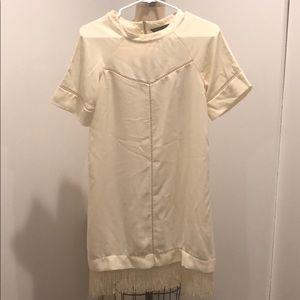 Zara fringe dress in size XS
